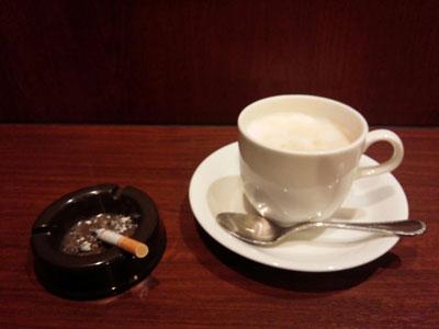 タバコとコーヒー